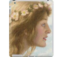 Edward Robert Hughes - Day.  Robert Hughes - woman portrait. iPad Case/Skin