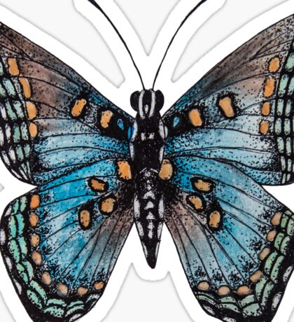Red-spotted Purple Butterfly  Sticker
