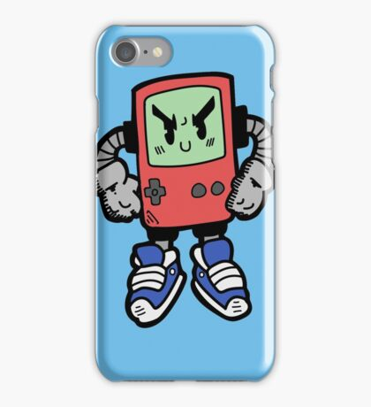 Game Punk - RED Version iPhone Case/Skin