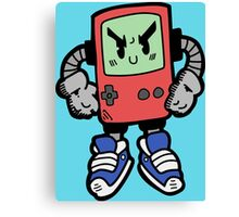 Game Punk - RED Version Canvas Print