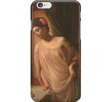 Edward Poynter - Asteri? 1904. Poynter - woman portrait. iPhone Case/Skin