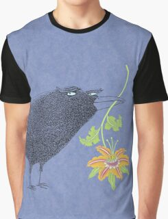 Lovebirds with flower courtship Graphic T-Shirt