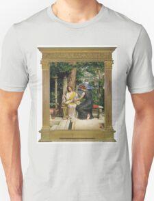 Edward Poynter - Helena And Hermia 1901. Poynter - woman portrait. Unisex T-Shirt