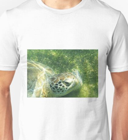 Underwater Turtle Unisex T-Shirt