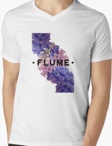 flume skin - white Mens V-Neck T-Shirt