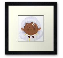 X-Men Animated Series: Storm Framed Print