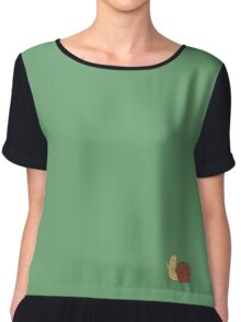 Adventure Time Snail - Small Chiffon Top