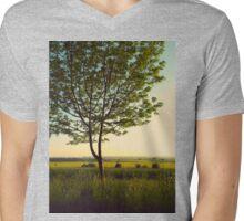 Green tree Mens V-Neck T-Shirt