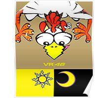 VR 46 Chicken Poster