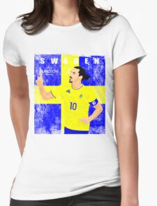 SWEDEN EURO 2016 Womens Fitted T-Shirt