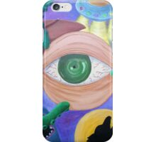 Nightmares - a painting iPhone Case/Skin