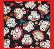 Sugar Skulls & Flowers Kids Tee