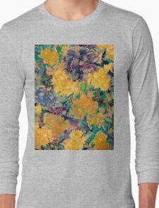flores amarillas Long Sleeve T-Shirt