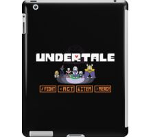 Undertale Charecters Group iPad Case/Skin