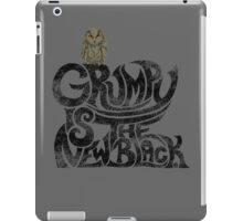 Grumpy is.... (+ Owl) iPad Case/Skin