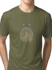 My Neighbor Totoro - Rain Tri-blend T-Shirt