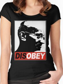 DISOBEY Women's Fitted Scoop T-Shirt