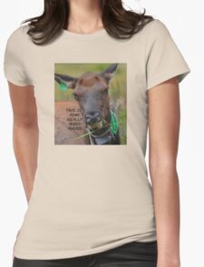 This is some Really Good Grass Womens Fitted T-Shirt
