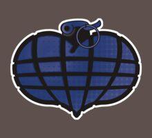 HeartGrenade: Blue Baby Tee