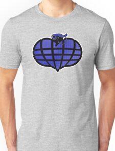 HeartGrenade: Blue Unisex T-Shirt
