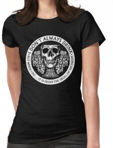 Skull Goblet Womens Fitted T-Shirt