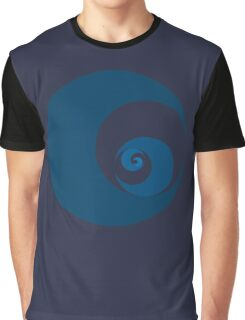 Golden Ratio Cutout Circles Graphic T-Shirt