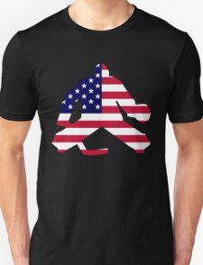 American Flag Goalie Unisex T-Shirt