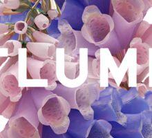 flume skin - purple Sticker