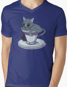 Mews! from the Teacup Collection Mens V-Neck T-Shirt