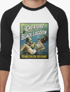 Creature From The Black Lagoon Men's Baseball ¾ T-Shirt
