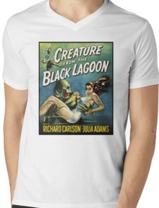 Creature From The Black Lagoon Mens V-Neck T-Shirt