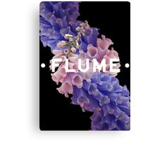 flume skin - black Canvas Print