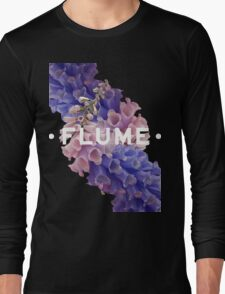 flume skin - black Long Sleeve T-Shirt
