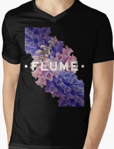 flume skin - black Mens V-Neck T-Shirt
