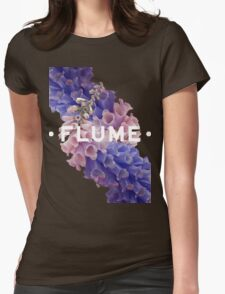 flume skin - black Womens Fitted T-Shirt