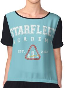 Star Fleet Academy Logo Chiffon Top