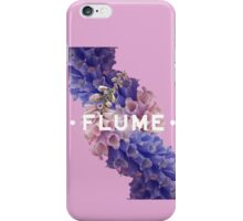 flume skin - purple iPhone Case/Skin