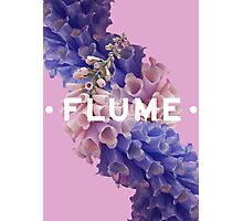 flume skin - purple Photographic Print