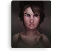 Irked Canvas Print