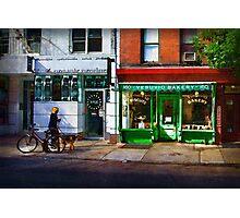 Soho Street Scene Photographic Print