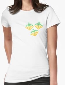 Peas'n'Carrots  Womens Fitted T-Shirt