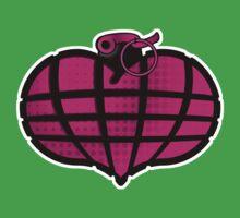 HeartGrenade: Pinky-G One Piece - Short Sleeve