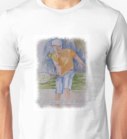 SPORTY - TENNIS ANYONE? Unisex T-Shirt