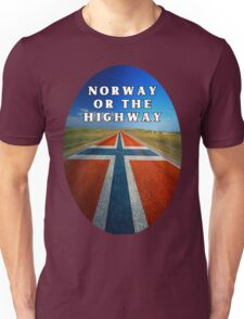 Norway or the Highway Unisex T-Shirt