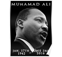 Rest in piece--MUHAMAD ALI (G.O.A.T.) GOD BLESS Poster