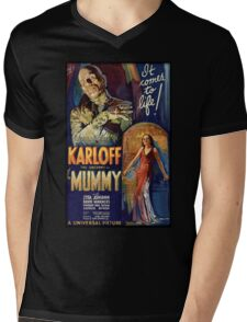 The Mummy Mens V-Neck T-Shirt