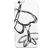 Butterfly Sketch 2 iPhone Case/Skin