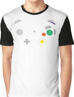 Gamecube Controller Buttons - Colour Graphic T-Shirt