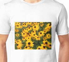 Yellow Coneflowers Unisex T-Shirt