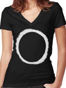 Eclipse Shirt (Dan Howell)  Women's Fitted V-Neck T-Shirt